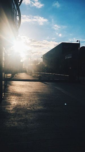 Sky Architecture Built Structure Sunlight Building Exterior No People Outdoors Sun City Day Nature Backgrounds Header Afternoon Enschede VSCO