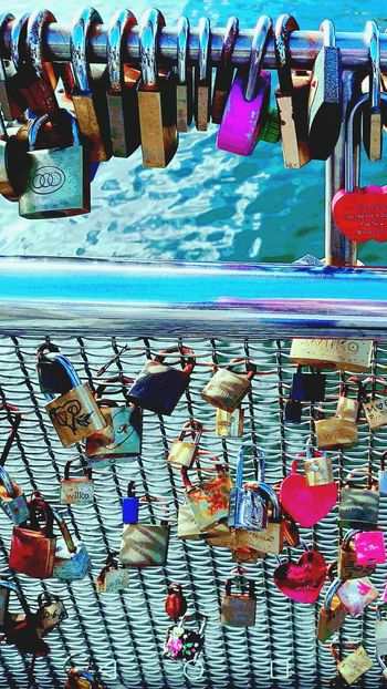 Bristol Harbourside love lock Bridge❤🔒 Harbour View Love Locks Bridge Love ♥ Water Close-up Valentine's Day  Colourful Locks Day No People Hanging Large Group Of Objects Bristol Harbour Celebrating Love BristolCity Uk England