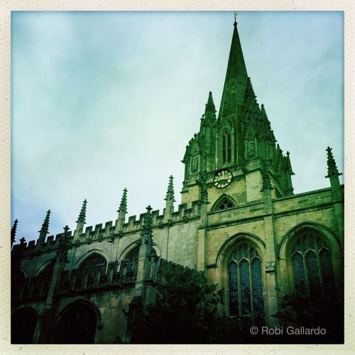 University Church of St. Mary the Virgin, Oxford Architecture Building Exterior Built Structure History Travel Destinations Theappwhisperer Iphonephotography NEM Submissions Eyeem Philippines Eyeem_philippines Mobilephotography Shootermag EyeEm Best Shots IPhoneography Iphone6plus AMPt_community