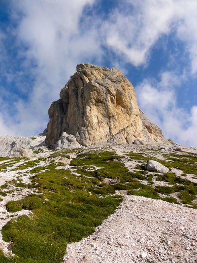 Day Exploring EyeEm Nature Lover Geology Nature Non-urban Scene Rock Rock - Object Rock Formation Rocky Mountains Rough Scenics Triglav National Park Landscape With Whitewall