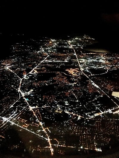 City lights Cityscape Cities Citylights NCR Metromanila NationalCapitalRegion No People Night Black Background Outdoors Close-up Sky Mobility In Mega Cities Go Higher