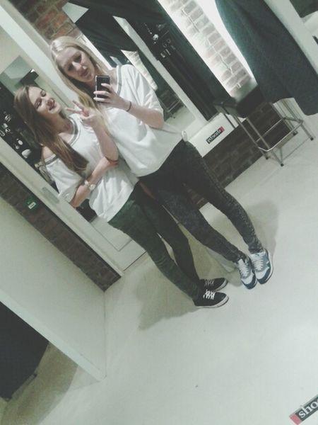 With Ma Bestie