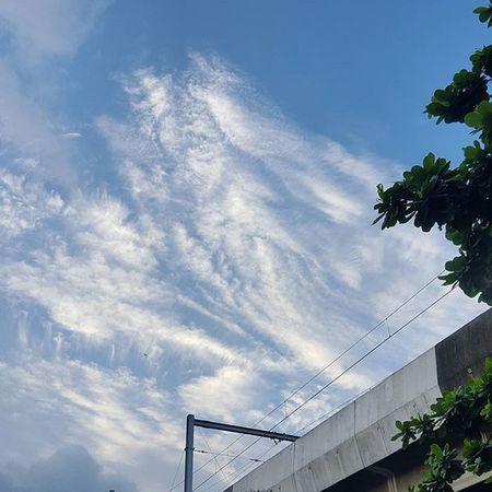 Look up. Sky Clouds Smallblessings