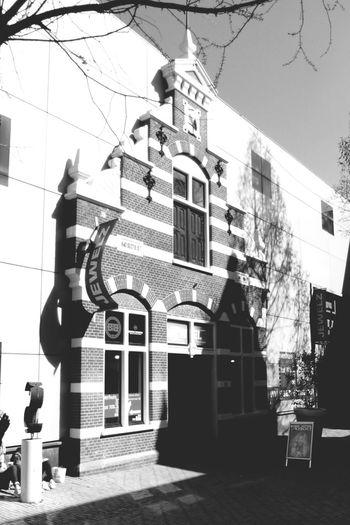 Black&white Black & White Building Exterior Buildings Den Haag Street