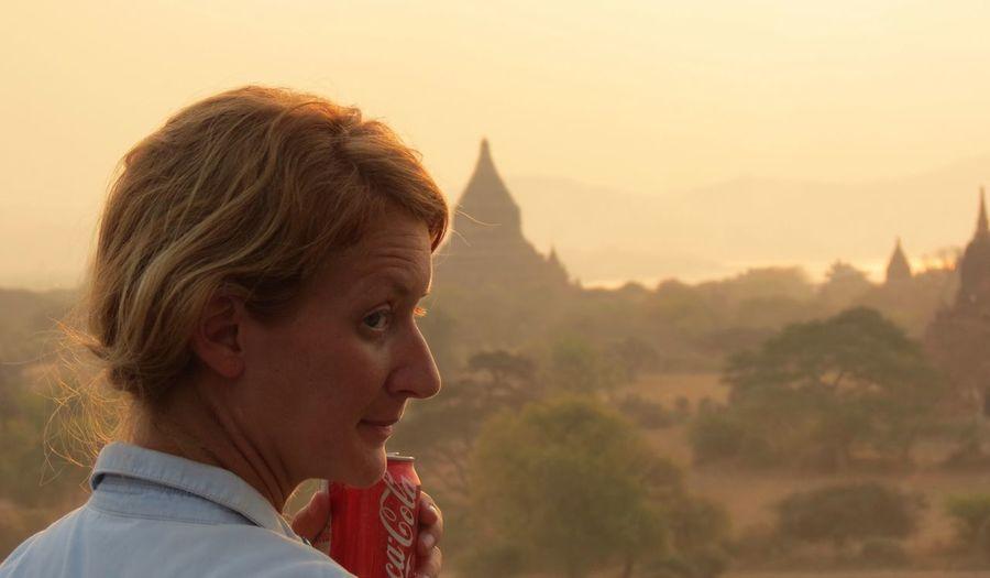 Bagan Myanmar Myanmar Pagoda Snapshot Sunsetscenery