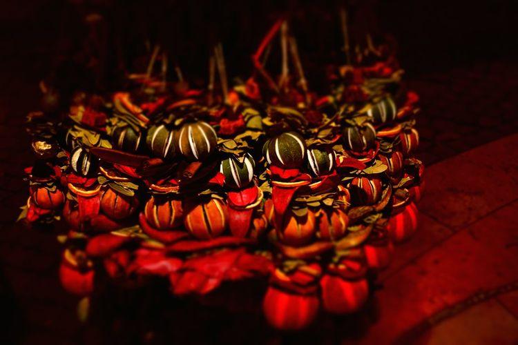 Streetphotography Hungary I <3 You Christmas Lights Szent István-bazilika Illuminated Budapest, Hungary Colourful Light Christmas Hungary Marketplace Market Neklace Sphere Bijoux Festive Gifts ❤ Christmastime Christmas Around The World Abundance Ornaments. Ornaments Everywhere ♥ Red No People Night Close-up Large Group Of Objects Indoors