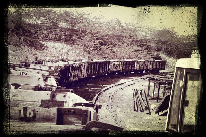 Salt Factory Sambhar Lake Jaipur Narrowguage train