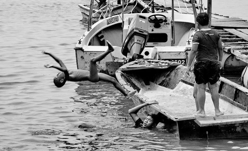 Summersault Backstyle , Children of Orang Asli | Travel Photography