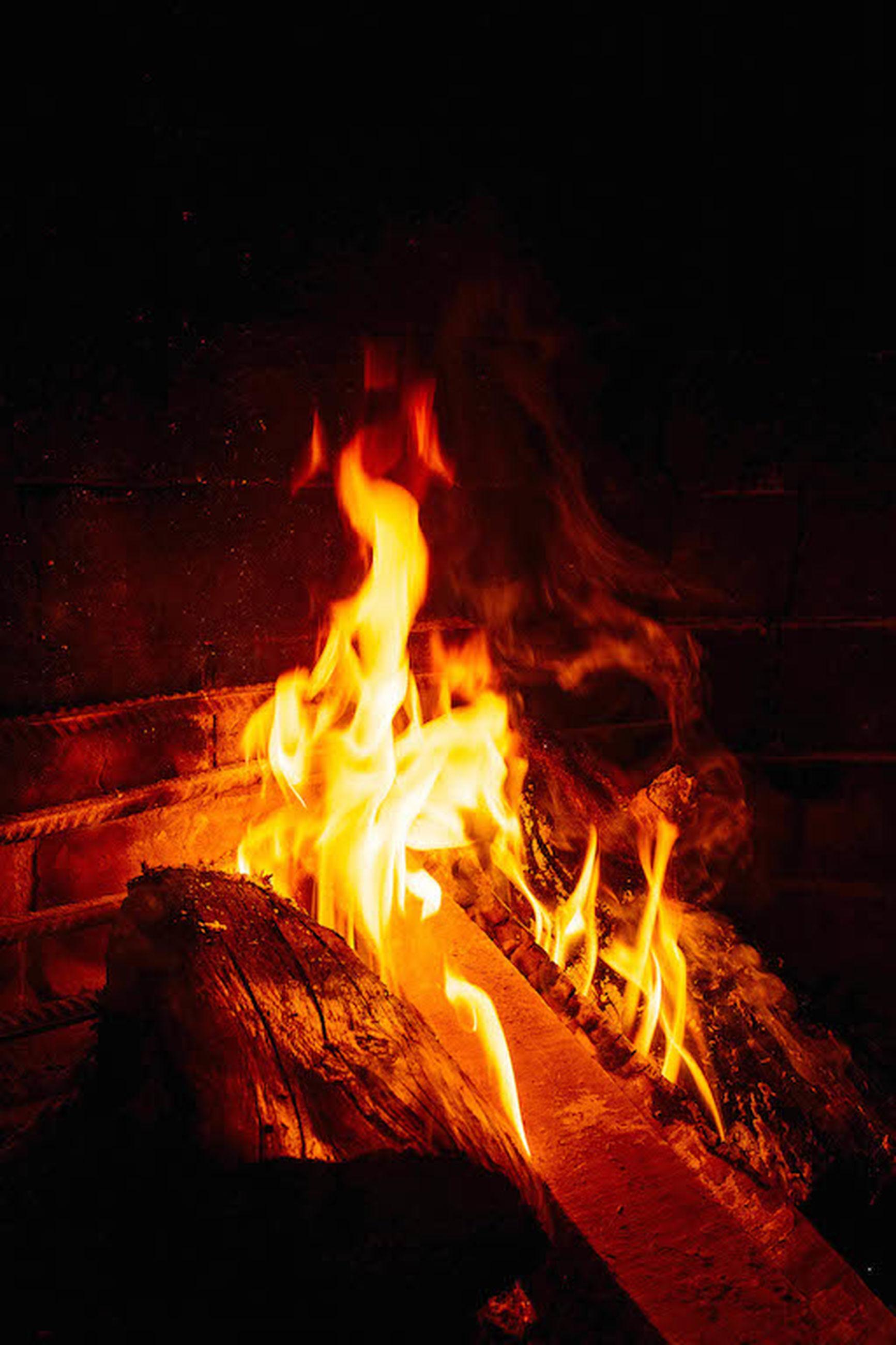 flame, fire - natural phenomenon, heat - temperature, burning, night, dark, no people, nature, close-up, outdoors