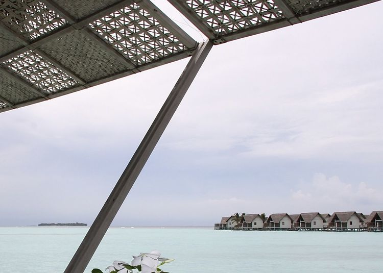 Architecture Beauty In Nature Day Enjoying Life Fine Art Fower Indian Ocean Island Lifstyle Maldives Nature No People Outdoors Sea Seascape Sky Travel Water Watervillage