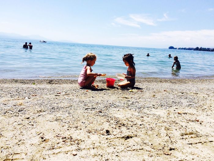 Lac Enfant Photo Photography Amis  Soleil Relaxing Jouer ❤