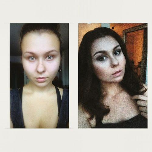 доипосле Makeup ♥ Makeupartist Spb