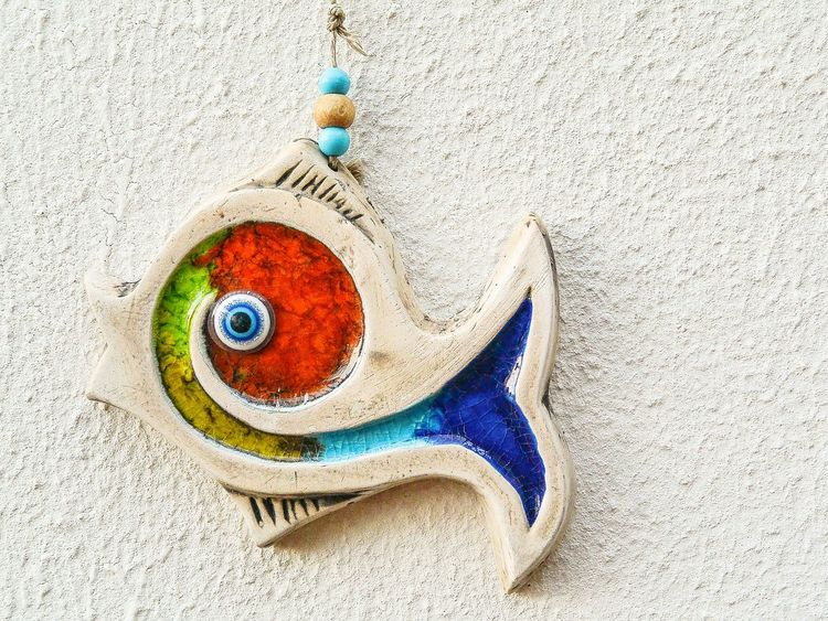 You're the only fish in the sea for me. 😊 Fish Art Colors Sicilian Art Ceramic Art