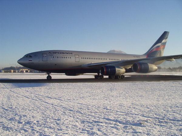 Aeroflot Aeroplane Air Vehicle Airplane Airplane Wing Charter Plane No People Transportation