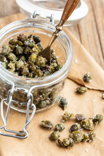 Salted capers