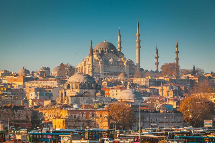 View Of Süleymaniye Mosque Against Sky