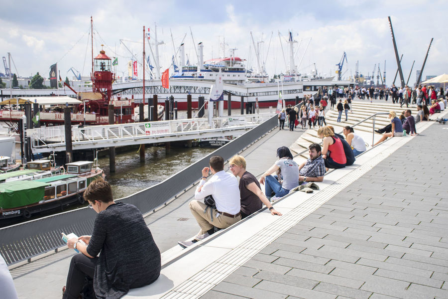 Hamburg City City Germany Hafen Hafencity Hamburg Hamburg City Hamburg Harbour Hansestadt Hh Tourist