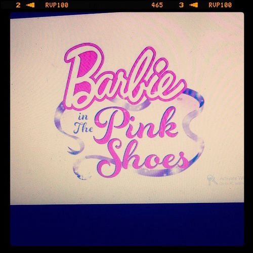 never get tired of watching her movies!:)BarbieFanForever BarbieAndthePinkShoes
