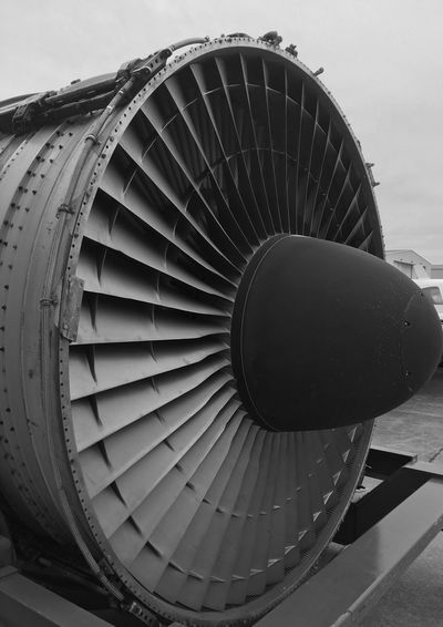 Air Vehicle Airplane Transportation Engine Jet Engine Mode Of Transportation Metal Aerospace Industry Turbine No People Close-up Technology Industry Commercial Airplane Airport Pattern Military Propeller Circle
