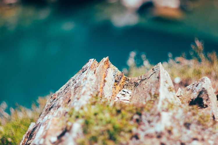 Beauty In Nature Close-up Day Nature No People Outdoors Rock - Object Scenics Sky Tilt-shift