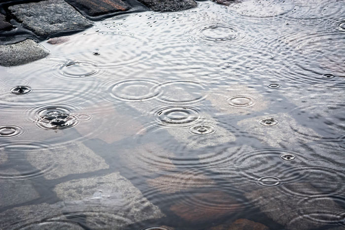 Hamburg today.. Drops Eye4photography  Geometry Open Edit Pfütze Puddle Puddle Reflections Puddleography Rain RainDrop Raindrops Rainy Days Reflection Regen Ring Rippled Water Showcase: February Stones Street Streetphotography Urban Geometry Water Water_collection Weather Mood