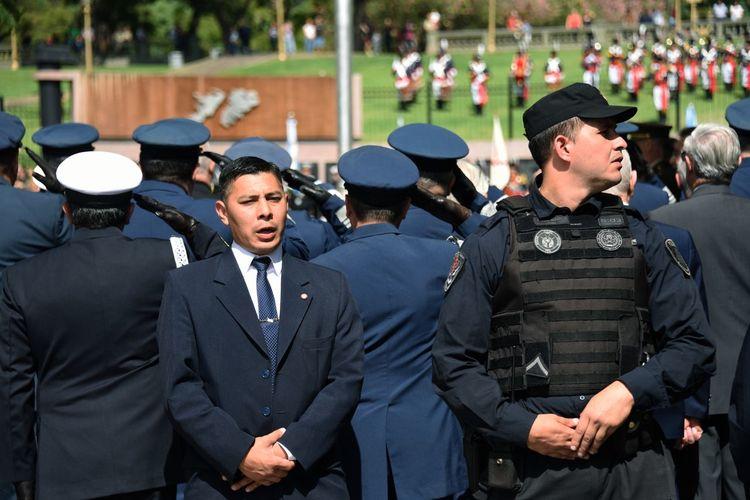 Buenos Aires, Argentina  Malvinas Argentinas Saludo Uniform Formacion  Guerra Policia Seguridad