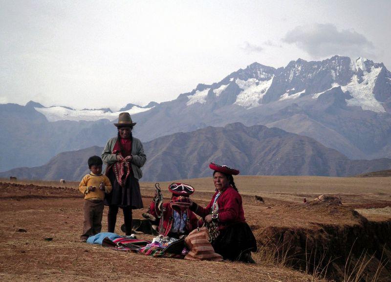 Andes Indians  Peru