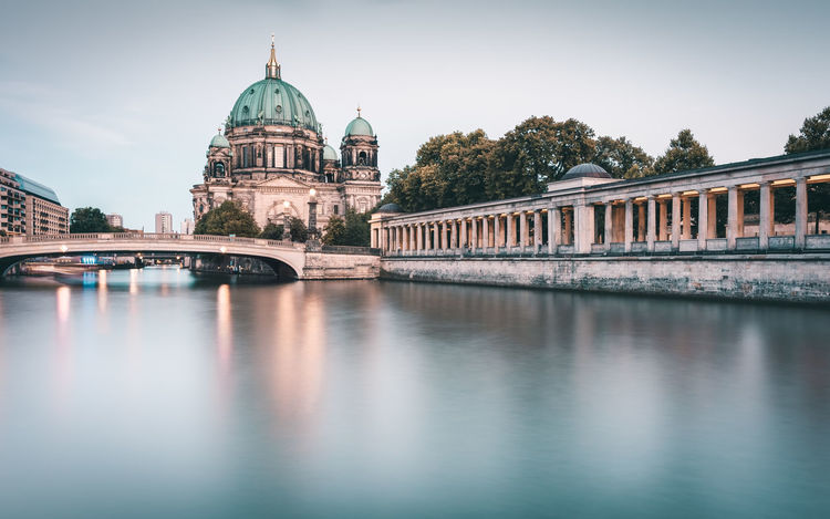 Berliner Dom | Berlin, Germany 2016 Architecture Berlin Berlin Cathedral Berlin City Berlin Mitte Berlin Sightseeing Berlin Trip Berliner Dom Capital Cities  City Culture Eurotrip Famous Place Germany History International Landmark Museumsinsel Outdoors River Sky Spree River Berlin Tourism Travel Destination Travel Destinations Urban Icon Market Bestsellers 2017