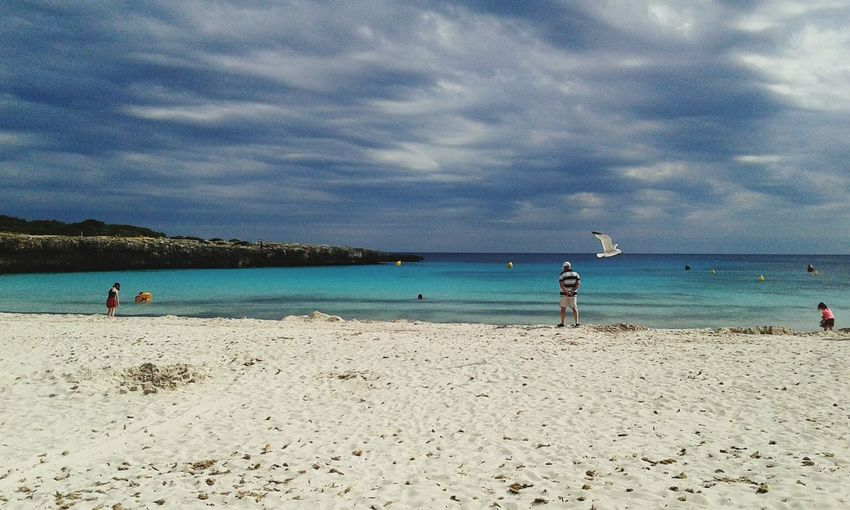 Sunshine Clouds And Sky Sandcastles Sea Enjoying The Sunset Mediterranean  Menorca Turquoise Enjoying The Sun Sunlight ☀