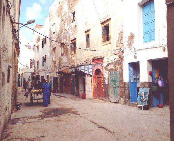 Medina Marokko Essaouira Morocco Gasse