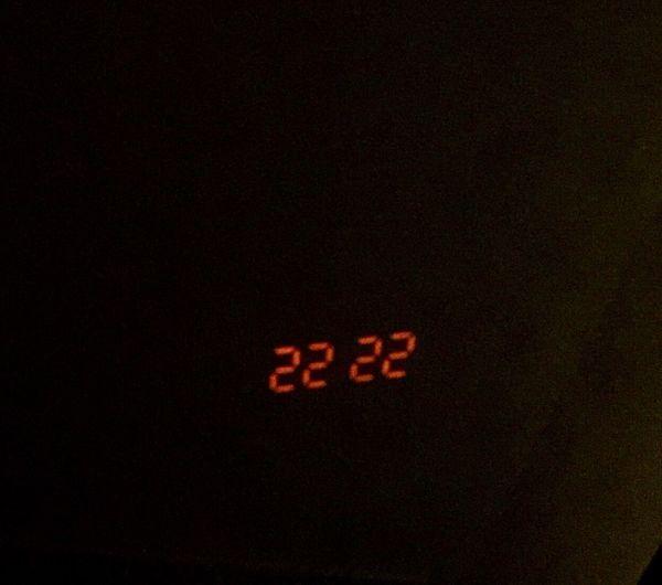 22:22 Digital Clock Digital Art Zen Night Lights Getting Creative