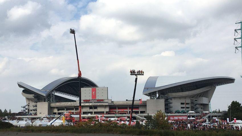 Come on you Reds! Urawa Reds Stadium Football Stadium Football Matchday Saturdayafternoon