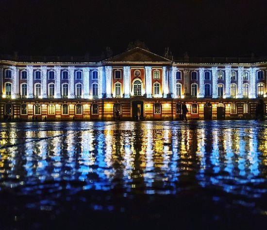 Water Waterfront Illuminated Building Exterior Travel Destinations