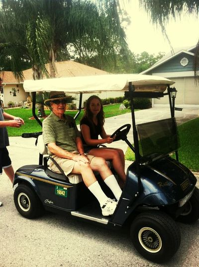 Florida with gramps throw back hollaa holla fo a dolla