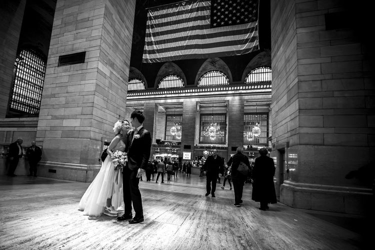 """""""A Good/White Start"""" Architectural Column Architecture Bride Built Structure Day EyeEm Best Edits EyeEm Best Shots EyeEm Gallery EyeEmBestPics EyeEmNewHere Groom Men Patriotism People Real People Stationary Travel Destinations Women EyeEm Selects Fresh on Market 2017 The Art Of Street Photography My Best Photo"""