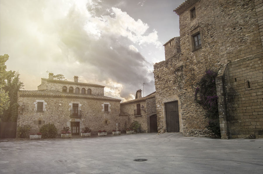 Architecture Building Building Exterior Built Structure City Day No People Outdoors Peratallada Sky Town
