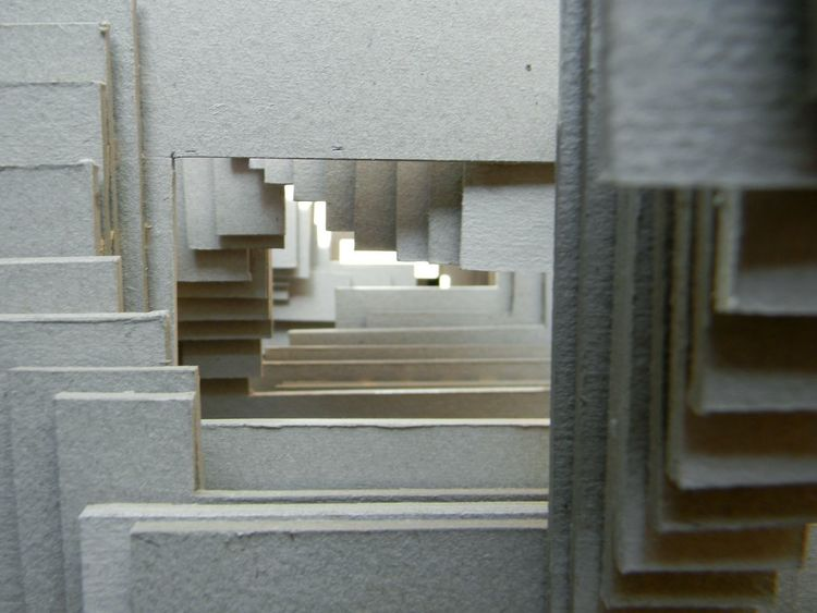 Architecture Steps And Staircases Steps No People Model Maqueta Mockup Architecture Textured  Flying High