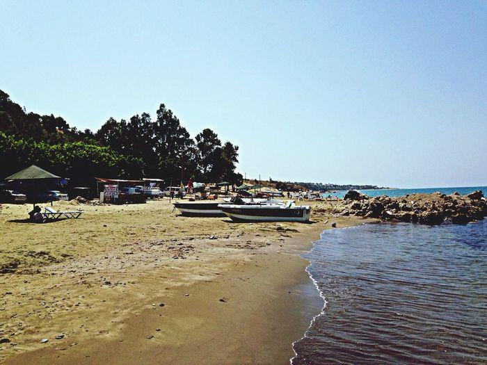 Отдых в море Deniz Kum Gunes Akdeniz