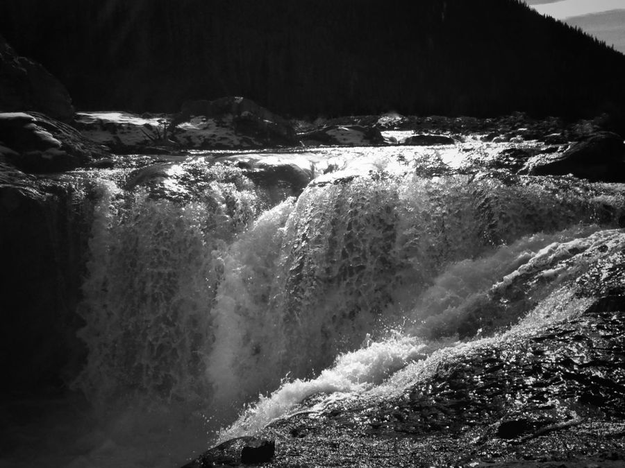 Waterfalls close up. Danger is my middle name lol Waterfalls Spray Black And White Nature Photography Nature Mountains Water EyeEm Nature Lover Photography In Motion Mountain Addict