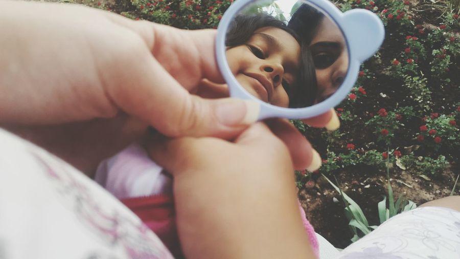 Withcuties Child Small Mirrorselfie Summermemories Summer Views Eyeemphoto