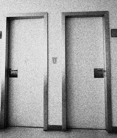 Black And White Blanco Y Negro Doors Grano