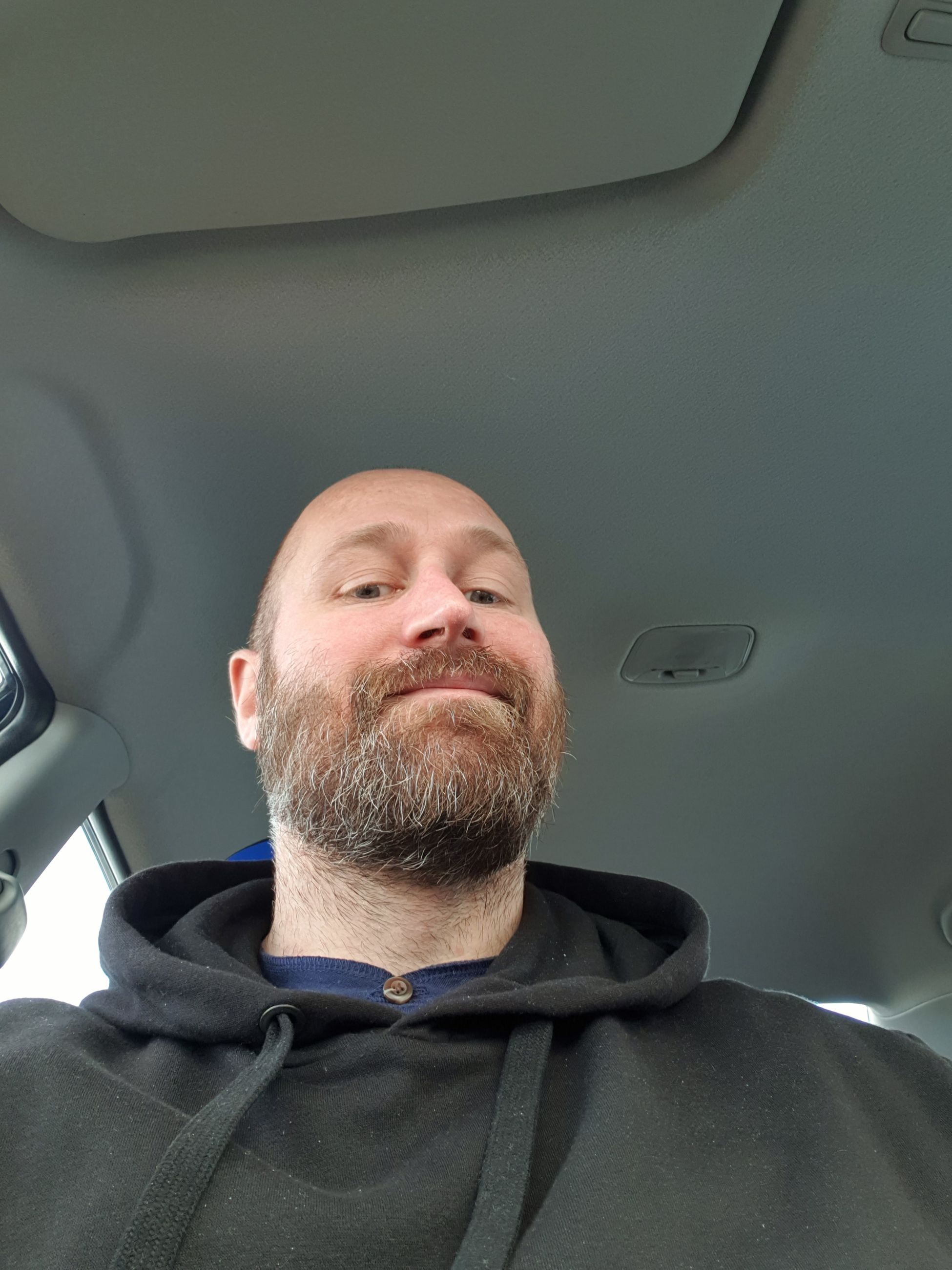 facial hair, beard, real people, transportation, men, portrait, mature adult, mode of transportation, males, vehicle interior, adult, mature men, headshot, car, one person, motor vehicle, lifestyles, front view, mid adult men