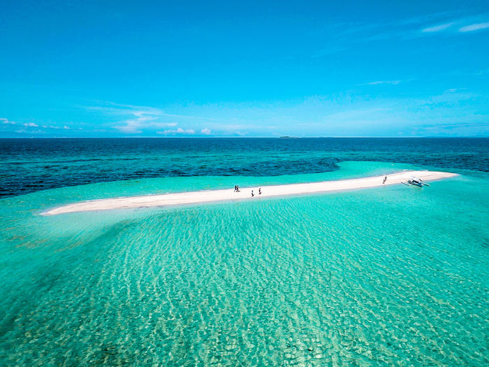 Beach Beauty In Nature Blue Clear Sky Day Eyeem Philippines Horizon Over Water Idyllic Nature Outdoors Sand Scenics Sea Sky Tranquil Scene Tranquility Vacations Water Lost In The Landscape