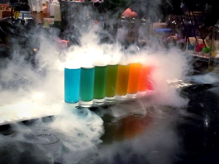 Close-up of smoke