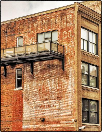 LYON'S BRO'S GHOST ~ Kansas City, Missouri ~ Ghost Signs  Dreamscapes & Memories Divelandscape, Divestreetoghrophy, Cityscape, Roadside America