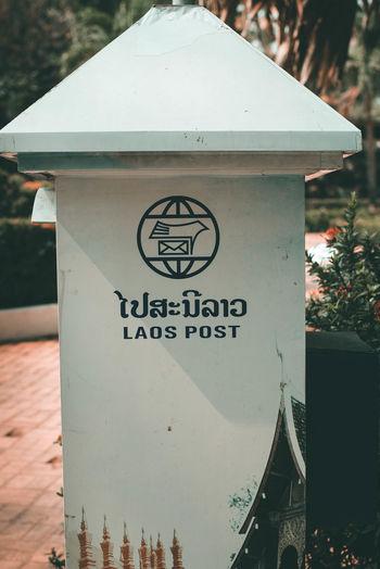 post box Text