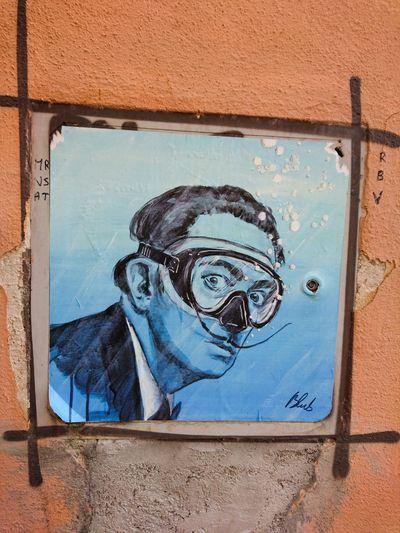 Close-up Streetart Unknown Artist