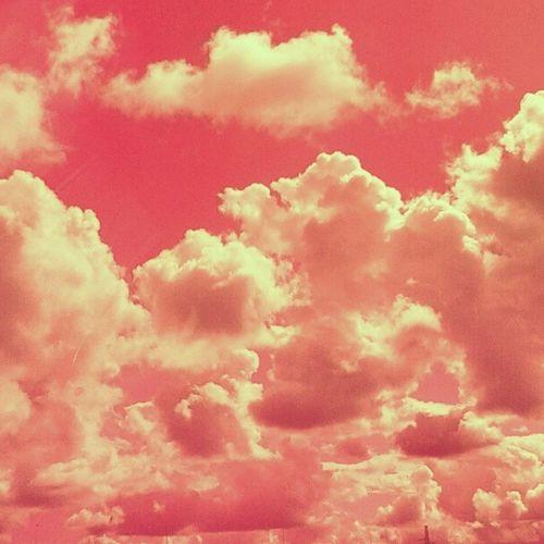 Heaven Pink Sky