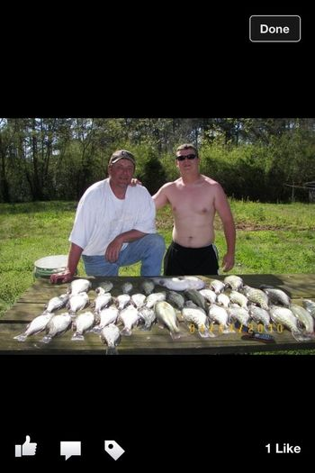 WBW Me And The Ol' Man Slayin Some Crappie