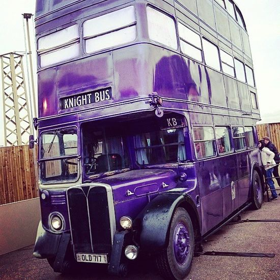 The Knightbus for the stranded Witch or Wizzard . the Harrypotter tour in London. Absolutely Awesome and a must for any potter fan. warnerbros makingofharrypotter film jk jkrowling watford emmawatson Leavesden rupertgrint phone phonephotography by NurPhotography. instapic follow on Instagram and Eyeem